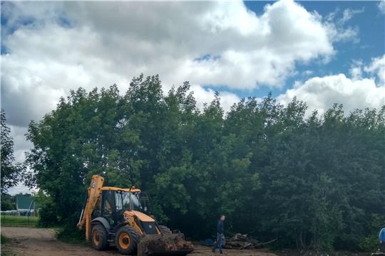 На Южном поселке завершаются работы по сносу дома №15 по ул. Бичурина