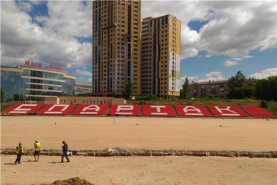 В Чебоксарах футбольное поле стадиона «Спартак» оснастят системой подогрева