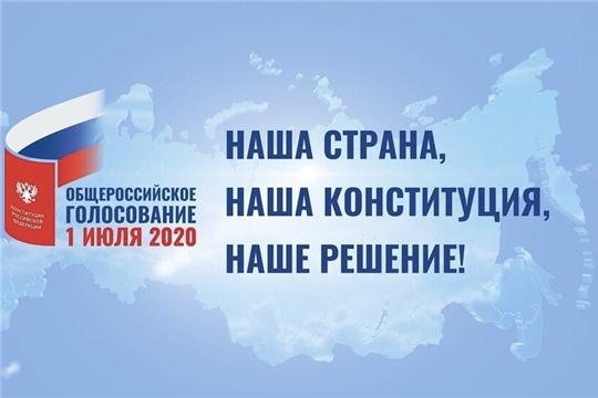 Наступил основной день общероссийского голосования по Конституции РФ