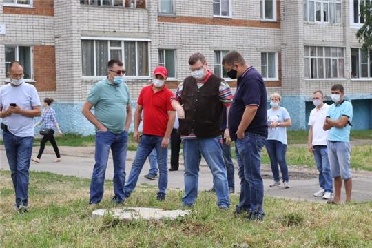 В субботу - 18 июля 2020 года прошел очередной обход территории Калининского района