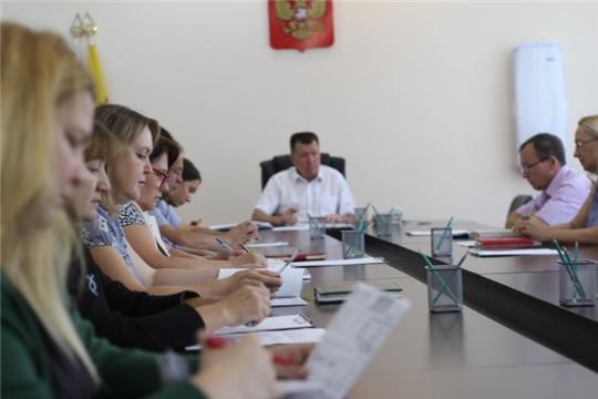 В Калининском районе состоялась еженедельная планерка