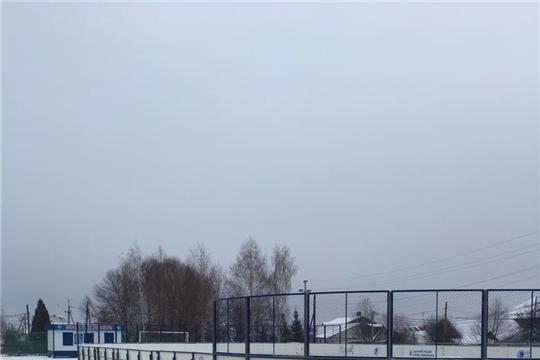 Перенесена хоккейная площадка расположенная в поселке Альгешево