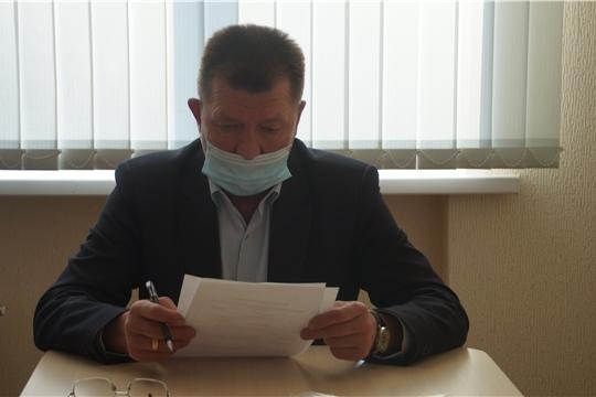 Состоялся приём главы администрации Калининского района с населением
