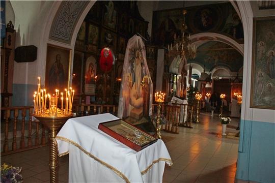 Рождественская служба в Шихазанской церкви