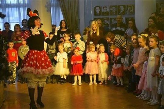 Волшебный праздник для детей сотрудников работников социальной сферы