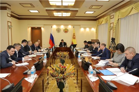 В Доме Правительства обсуждаются предварительные итоги развития муниципальных образований Чувашской Республики за 2019 год