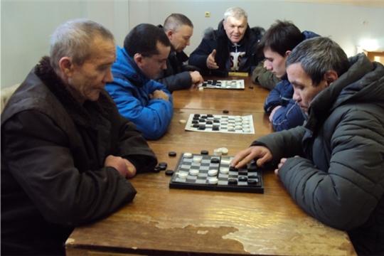 В Сеспельском СДК состоялся шашечный турнир