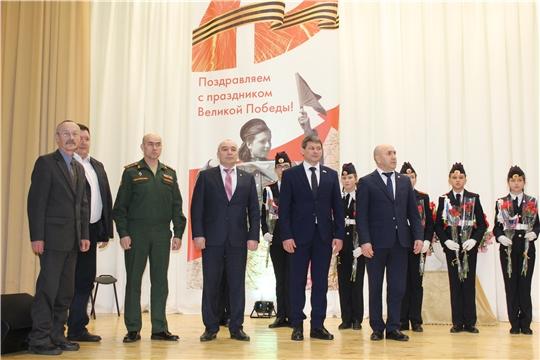 В Канашском районе с участием Сергея Артамонова подвели итоги социально-экономического развития  и торжественно открыли Год памяти и славы