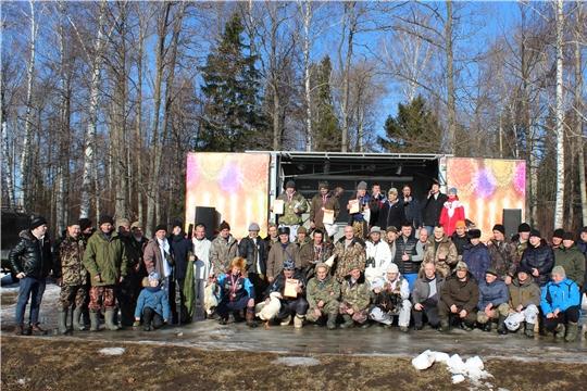 22 февраля в Канашском районе проведен охотничий биатлон Чувашской республиканской общественной организации  охотников и рыболовов «Канашская»