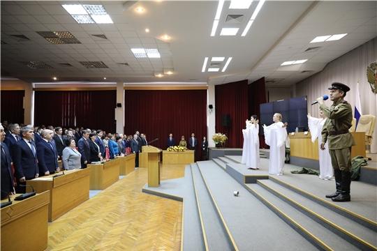 3 марта  артисты Канашского района участвовали на открытии совместного заседания Правительственной комиссии по вопросам АПК