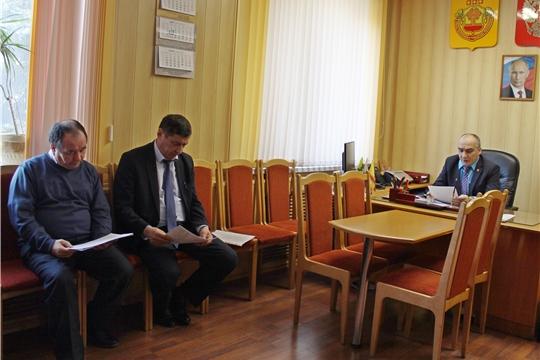 Заседание  комиссии по делам ГО и ЧС