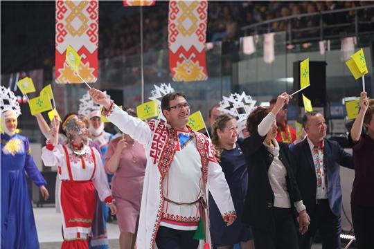 Канашский район на параде муниципалитетов республики в честь 100-летия образования Чувашской автономной области