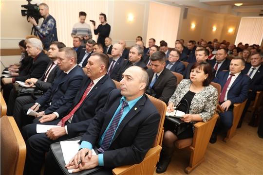 Глава администрации Канашского района В.Н. Степанов принял участие в семинаре-практикуме, где обсуждались современные подходы к комплексному развитию сельских территорий