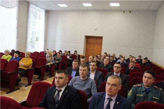 Планерочное совещание в администрации Канашского района