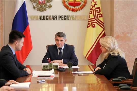 Олег Николаев взял на контроль организацию перехода на дистанционный формат обучения школьников