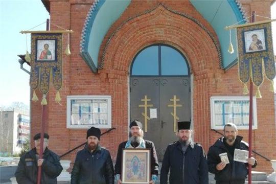 Молитвенный  объезд сельских церквей  и окрестностей Канашского района  с окроплением святой водой