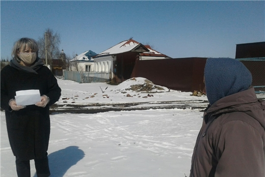 Одними из первых к акции «Мы вместе» присоединились активисты Канашского района