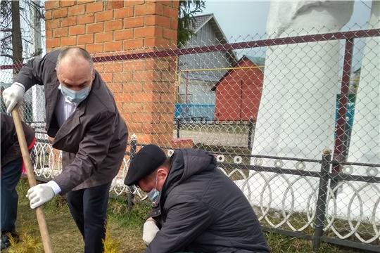 В деревне Туруново Канашского района появился «Сад памяти»
