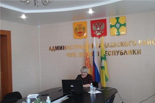 Председатель Общественного совета Канашского района Оксана Губанова приняла участие в режиме видеоконференц-связи в  работе совещания Общественной палаты Чувашской Республики