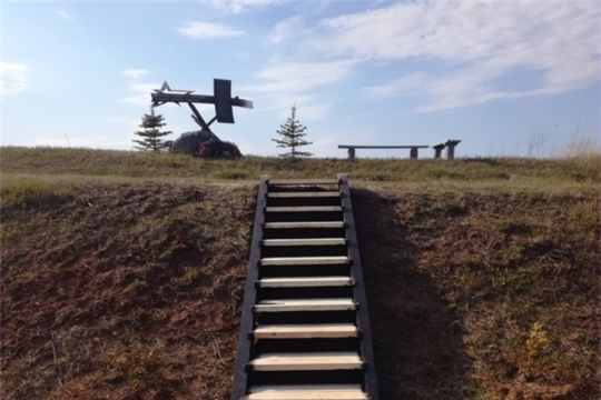 Благоустройство памятника в д.Дмитриевка
