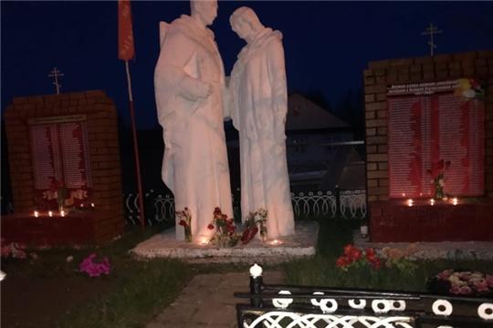 Свеча памяти в Байгильдинском сельском поселении
