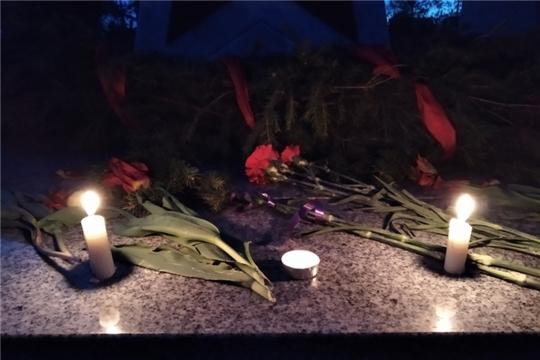 Всероссийская патриотическая акция «Свеча памяти» в Малобикшихском сельском поселении