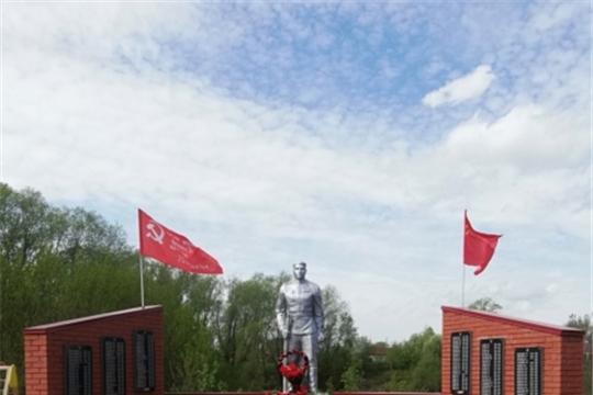 В д. Асхва построена Стена памяти в честь участников войны