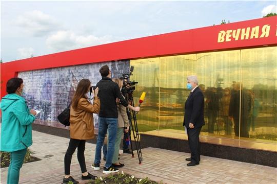Парк Победы в селе Шихазаны  Канашского района – в центре внимания СМИ республики