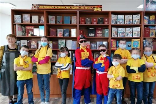 Деревню Новые Шальтямы посетила детская программа «Агенты 100»