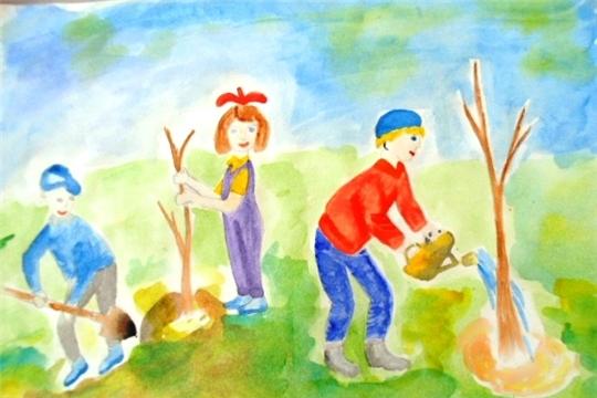 Онлайн-акция «Радуга планеты детства»