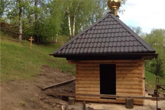 Строительство купальни в честь великомученика целителя Пантелеймона
