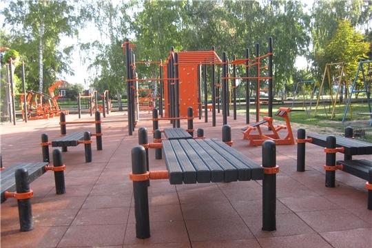 Спорт норма жизни: в пяти муниципалитетах Чувашии в 2020 году будут построены малые спортивные площадки ГТО