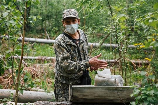 В Чувашии в охотничьих угодьях выкладывают соль для диких животных