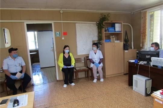 В Малокибечском сельском поселении прошел рейд по выявлению нарушителей режима самоизоляции