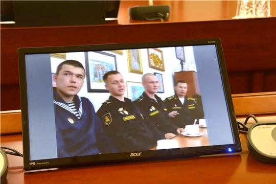 Олег Николаев поздравил военнослужащих Балтийского флота с пятилетием ракетного катера «Чувашия»