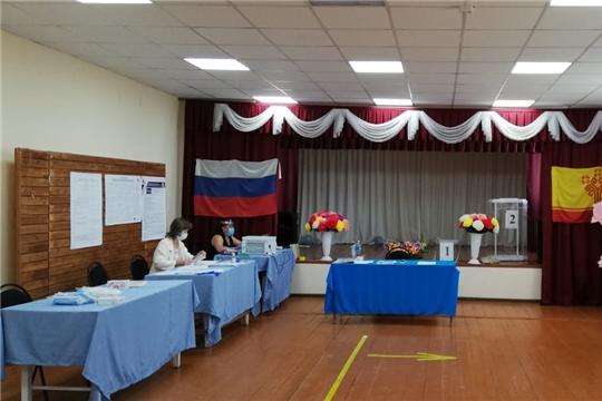 В Канашском районе началось голосование по поправкам в Конституцию РФ