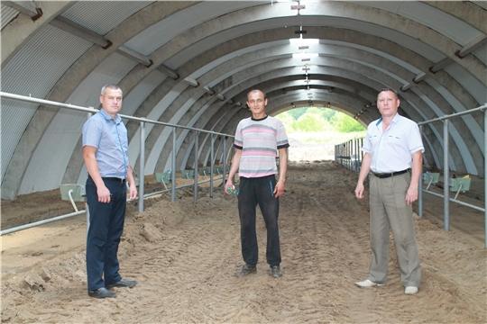 Строительство новой фермы в КФХ Николаева С.В.