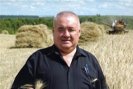 Ветерана агропромышленного комплекса Н.С.  Андреева поздравили с 75-летием