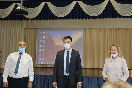 Рабочий визит министра образования и молодежной политики Чувашской Республики  Сергея Яковлева в Канашский район