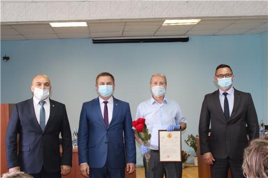 23 июля министр здравоохранения Чувашской Республики В.Г. Степанов в ходе рабочего визита в Канашском районе  встретился с медицинскими работниками Канашской центральной районной больницы