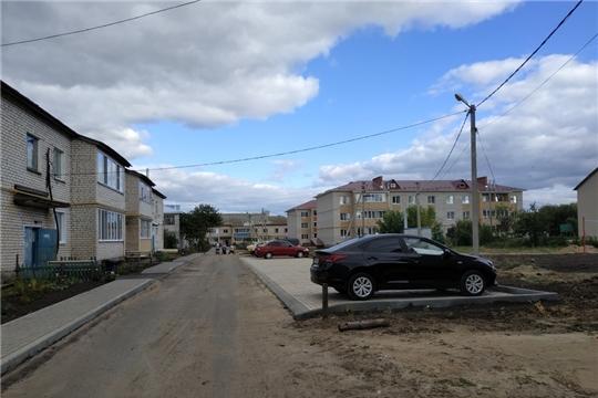В рамках повышения комфортности среды проживания граждан  - благоустройство населенных пунктов района