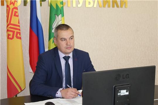 В администрации Канашского района прошло  рабочее  совещание