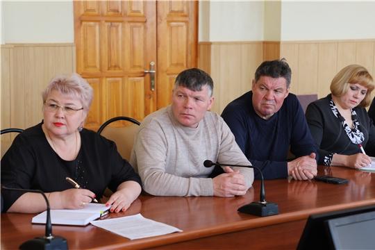 Оперативное совещание с главами сельских поселений района