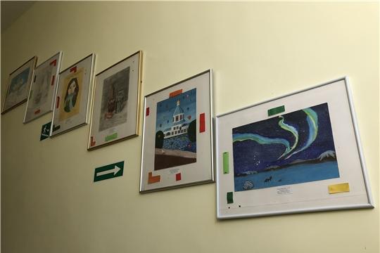 Выставка юных художников