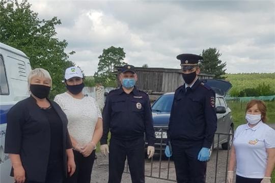 В Комсомольском районе мобильные группы патрулируют кладбища