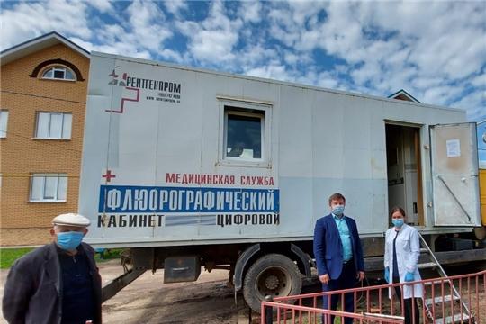 Мобильный цифровой флюорограф - в Комсомольском районе
