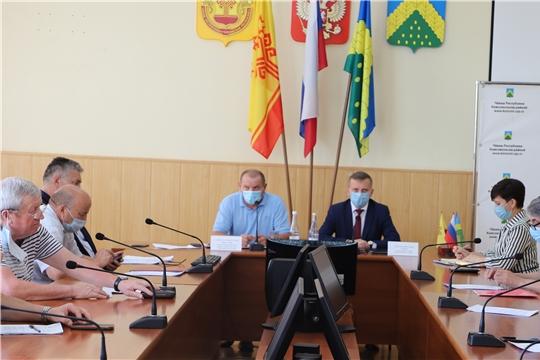 Заседание Собрания депутатов Комсомольского района Чувашской Республики шестого созыва