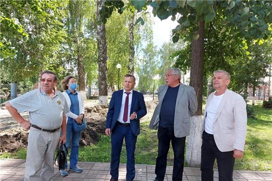 Прошло заседание градостроительного Совета при администрации Комсомольского района