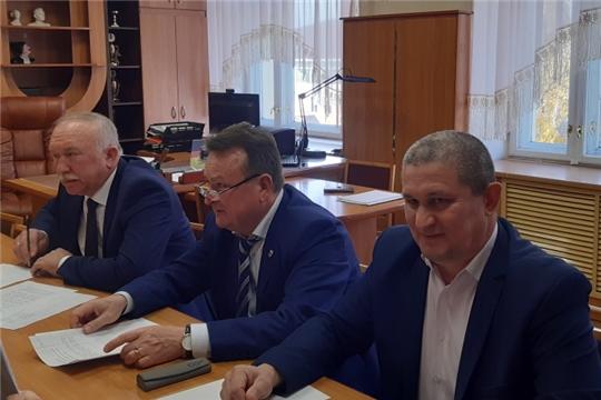 Первое заседание конкурсной комиссии на замещение должности главы администрации Комсомольского района Чувашской Республики