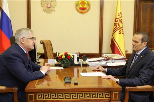 Глава Чувашской Республики Михаил Игнатьев: «Импортозамещение и экспортоориентированность – очень значимые темы для развития экономики»